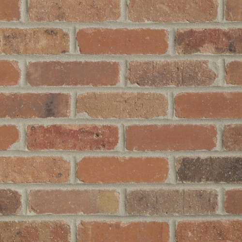 Brickweb Thin Brick Box of Dixie Clay Corners - 5.3 Lineal Ft.