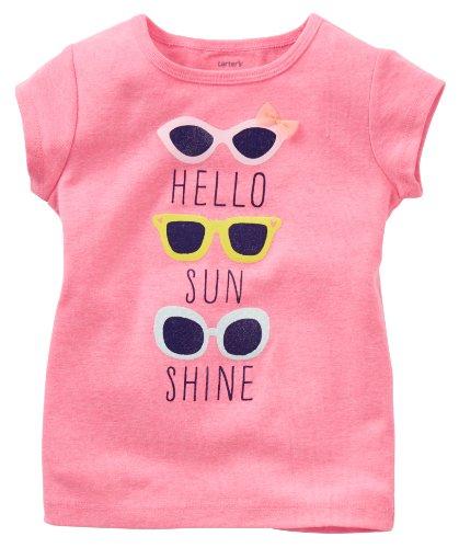 Carter's Baby Girls' Tee (Baby) - Sunglasses - 18 ()