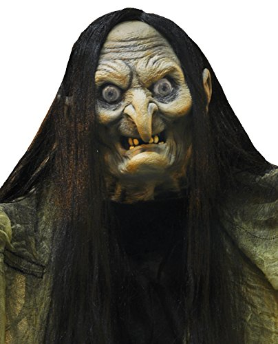 UHC Scary Haunted House Hagatha The Towering Witch Animated Halloween Prop by Mario Chiodo (Image #1)