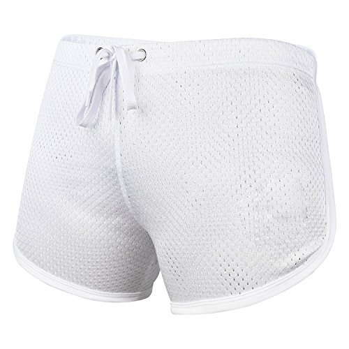 Ouber Men's Workout Racing Short Shorts with Elastic Drawsting - Mens Racing Shorts