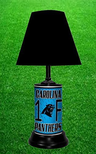 CAROLINA PANTHERS TABLE LAMP