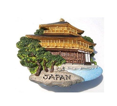 Golden Temple, JAPAN SOUVENIR RESIN 3D FRIDGE MAGNET SOUVENIR TOURIST GIFT 048