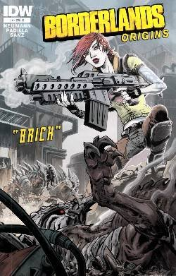 Borderlands Origins #4 Retailer Incentive Variant Cover Incentive Variant Cover