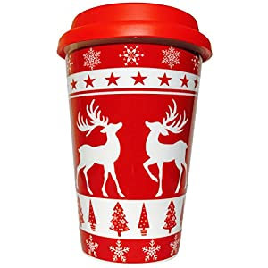 Amazon.com: Travel Coffee Mug - Cool Christmas Mug