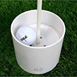 HLC-4-Practice-Green-Golf-Cup-Bright-White-Plastic-2pcs