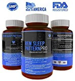 REM Sleep PatternPro Non Habit Forming Sleep Aid for Adults Natural Sleep Aid Supplements Balance Sleep Schedule with Revitalizing Sleep Formula - Sleep Fast and Stay Asleep Natural Sleep Aid