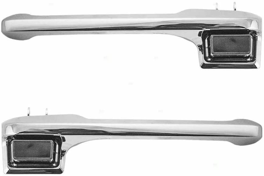 APA Replacement For Bronco F Series Pickup 80-96 Outer Front Door Handle Left and Right Pair E7TZ1522405A E7TZ1522404A