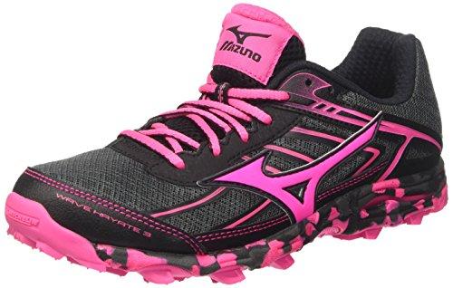 Damen Mehrfarbig Wave Mizuno Dark W Shadow Laufschuhe Pink Black Glow Hayate x1Xfdf7n