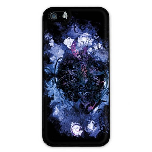 Diabloskinz H0081-0010-0001 Beautiful Flower Schutzhülle für Apple iPhone 5/5S