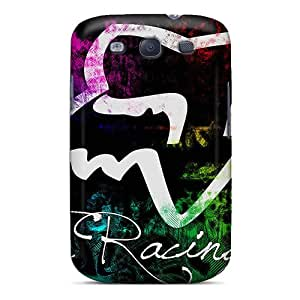 Tpu Case Cover For Galaxy S3 Strong Protect Case - Fox Racing Design