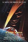 """Star Trek: Insurrection 1998 Authentic 27"""" x 41"""" Original Movie Poster Rolled Very Fine Patrick Stewart Thriller U.S. One Sheet Advance"""