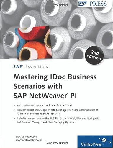 Mastering IDoc Business Scenarios with SAP NetWeaver PI, Krawczyk, Michal; Kowalczewski, Michal