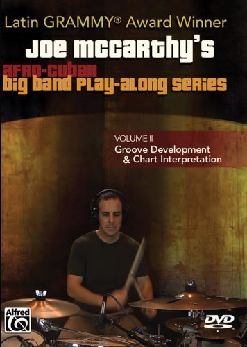 - Joe McCarthy's Afro-Cuban Big Band Play-Along, Vol 2 (DVD) by Alfred Publishing Staff