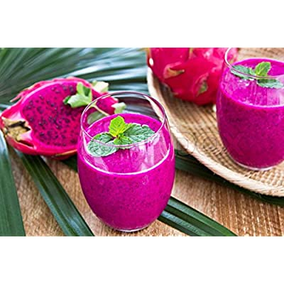20 PURPLE DRAGON FRUIT (Pitaya / Pitahaya / Strawberry Pear) Hylocereus Undatus Cactus Seeds by Seedville: Toys & Games