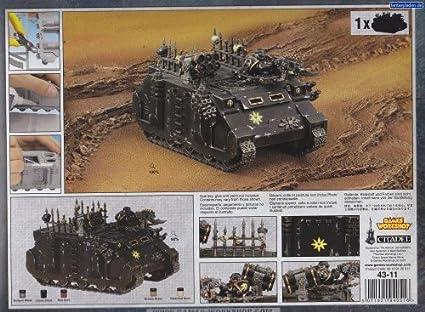 Chaos rhino chaos lance-missiles-Chaos Space Marines-Warhammer 40k