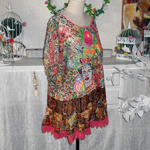 Multicolores 44 Tunique 50 48 Antica 46 52 Sartoria Chic Robe Boheme WOwzTXzfY