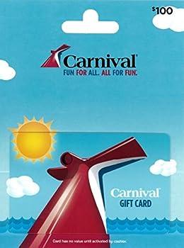 $100 Carnival Cruise Gift Card