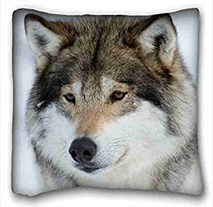 "Soft Pillow Case Cover Animal DIY Pillow Cover Size 16""X16"" suitable for Full-bed"