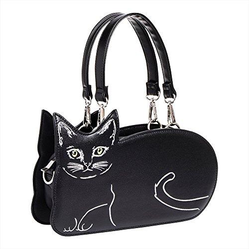 Kat negro Kat Kitty Bolso negro Vietato Kitty Bolso Vietato Bolso Vietato UqFw7U