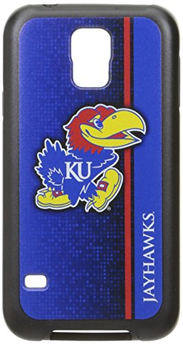 NCAA Kansas Rugged Series Phone Case Galaxy S57, One Size, One Color
