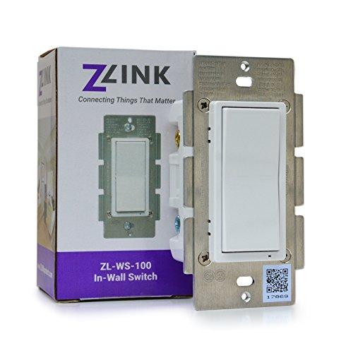 Z Wave Zlink Z Wave Plus In Wall On Off Switch