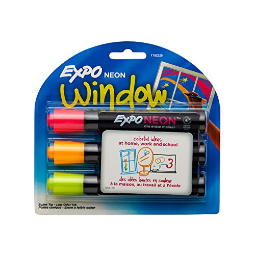 Markers Bullet 3 Pack Assorted Colors