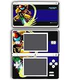 Super Metroid Prime Samus Fusion Video Game Vinyl Decal Skin Sticker Cover for Nintendo DS Lite System