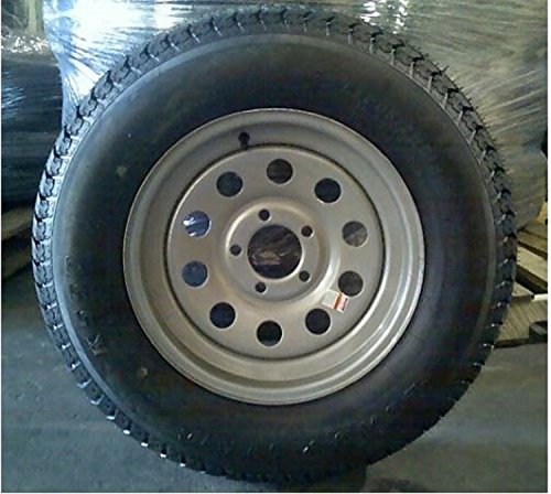 Silver Trailer Wheel Mounted Circle