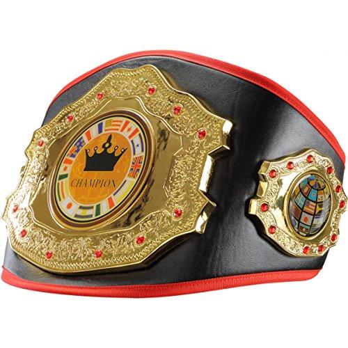 Crown Jewel Title Belt, -