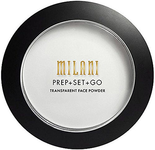 Set Face Powder (Milani Prep + Set + Go Transparent Setting Face Powder, Transparent, 0.24)