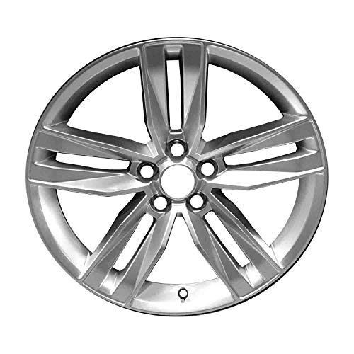 Multiple Manufactures ALY05761U77 Silver Wheel with Painted and Meets All Federal Motor Safety Standards (20 x 8.5 inches /5 x 120 mm, 25 mm Offset)