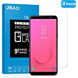 [2-Pack] Samsung Galaxy J8 2018 Screen Protector, Jbao Direct [Ultra-thin] [HD Clear] [Bubble free] [Easy Installation] Premium Tempered Glass Screen Protector for Samsung Galaxy J8