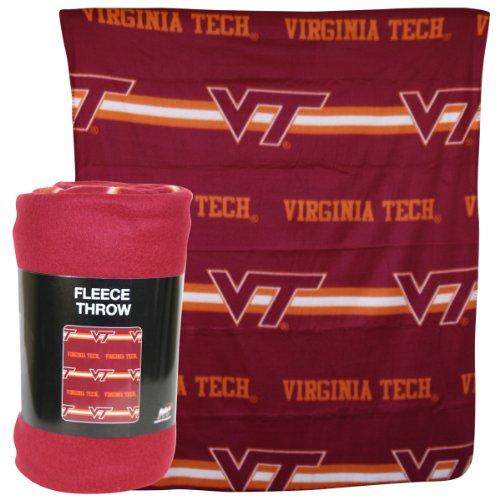 Virginia Tech Hokies 50x60 Fleece Blanket - Mark Design