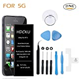HOMSUM iPhone 5 Battery Replacement for Cell Phone iPhone 5/5G Battery Repair Kit
