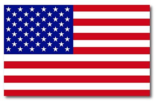 American Flag Car Magnet Decal - 5 x 8 Heavy Duty for Car Truck SUV Waterproof ()