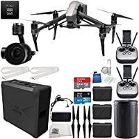 DJI Inspire 2 Premium Combo with Zenmuse X5S and CinemaDNG and Apple ProRes Licenses Filmmaker Essential Bundle