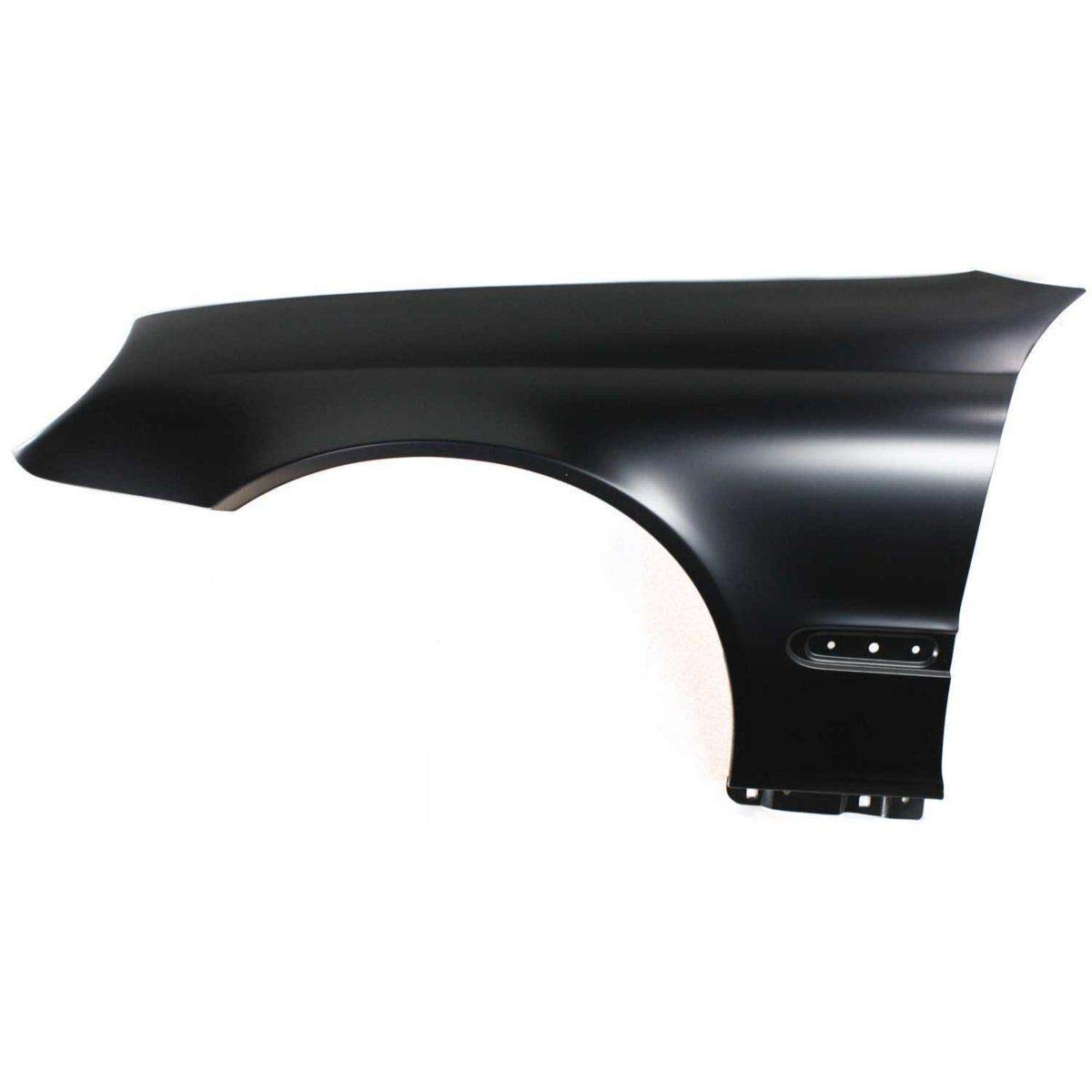 Fender For 2003-2007 Mercedes Benz C230 Front RH Primed Steel with Molding Holes