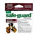 Merck Animal Health Safe-Guard Canine Dewormer, 4 gm