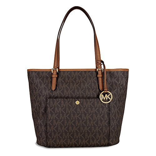 michael-kors-n-s-jet-set-tote-womens-shoulder-bag-purse-brown