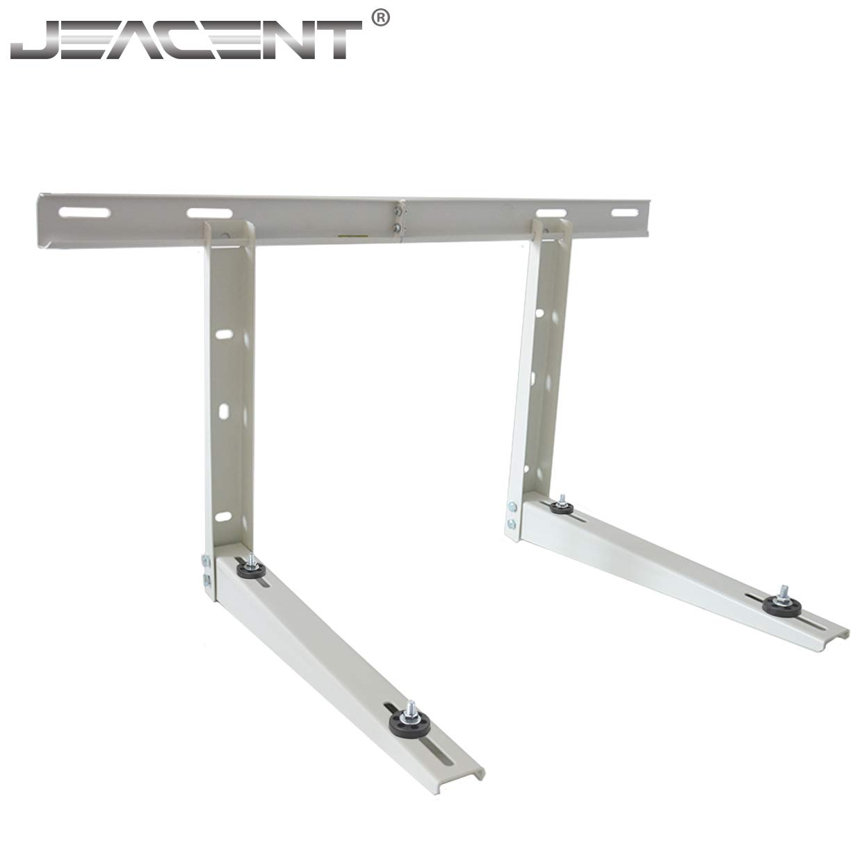 Universal Outdoor Mounting Bracket for Ductless Mini Split Air Conditioner, Condensing Heat Pump Systems, 9000-36000 Btu Condenser Jeacent Inovations