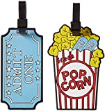 Popcorn Luggage Tag Shoulder Bag Multi, One Size