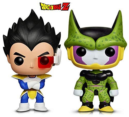 (Warp Gadgets Bundle - Funko Pop! Animation: Dragonball Z - Perfect Cell & Vegeta (2 Items))