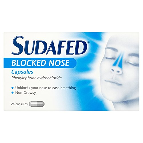 Sudafed Blocked Nose Capsules 24 caps