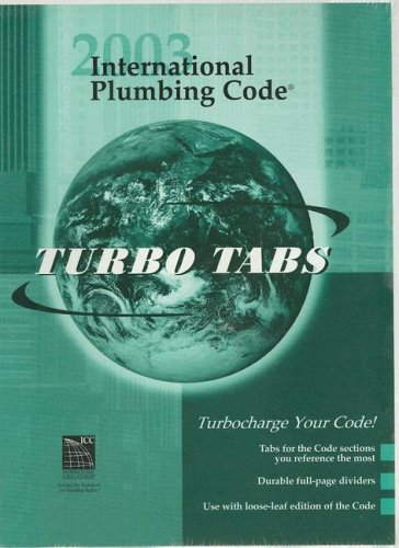 International Plumbing Code 2003: Tabs for Looseleaf Version (International Code Council Series)