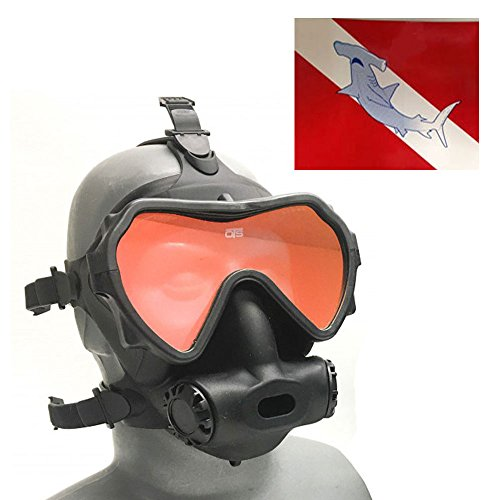 OTS Spectrum Full Face Diving Mask with Tinted Lens