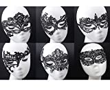 6 Pack Lace Sexy Mask - Venetian Masquerade Lace Eyemask Eye Mask for Halloween Masquerade Party,Costume Mask Masquerade For Women ¡