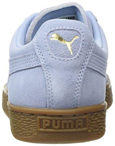 Puma Adulte Mixte Suede Sneakers Blue Classic cashmere Gum Basses Bleu rcwrfaBq