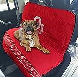 #10: Oklahoma Sooners Premium Pet Dog Waterproof Car Seat Cover