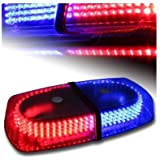 Jackey Awesome 240-LED Snow Plow Safety Strobe Light Warning Emergency 7-Patterns Car Truck Construction Car Vehicle Safety W/ Magnetic Base (Red u0026 Blue)  sc 1 st  Amazon.com & Amazon.com: Low Voltage (12 Volts) - Strobe Lights / Commercial ... azcodes.com
