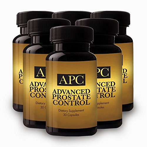 Advanced Prostate Control - Dietary Supplement - 6 Bottle Supply -Reignite Virility and Throw the Brakes on Mens ''Middle-Age'' Decline by Best Life Herbals